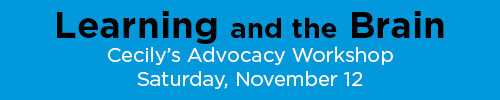 Cecily's Advocacy Workshop